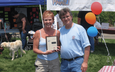 Pet advocate honored by veterinary center